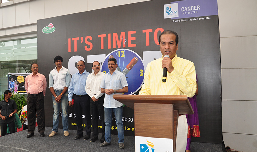Say No to Tobacco Campaign – On the eve of 'World NO Tobacco Day 2012'