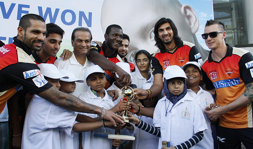 T-2 Cricket Match – SunRisers Hyd VS Child Cancer Patients