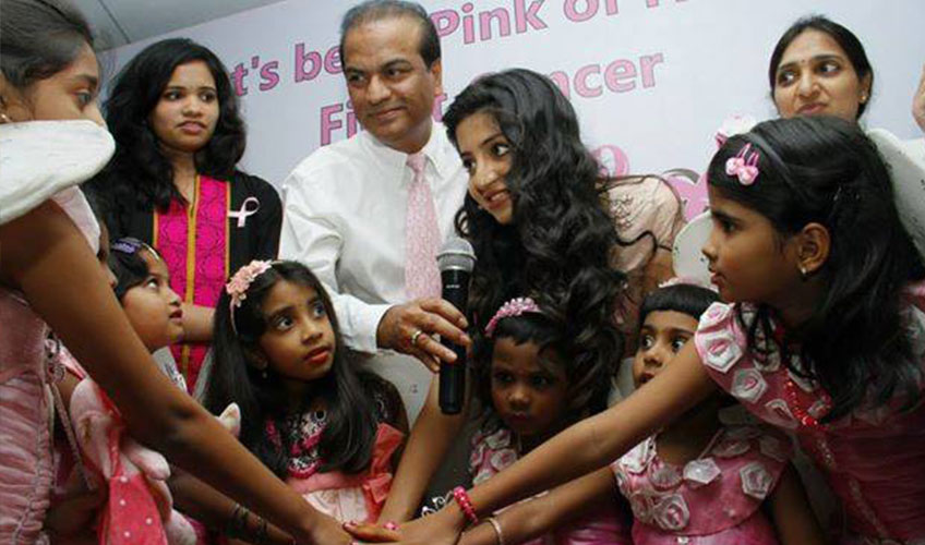 Let's be in Pink of Health- Fight Cancer -Breast Cancer Awareness Program 2014
